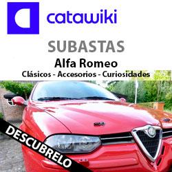 Subastas Alfa Romeo